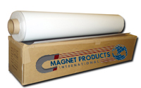 "Magnet Roll - 30 Mil 48.00"" x 25' or 50' Matte White Vinyl. Also available in Plain (no laminate) and Adhesive"