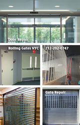 Doors and gates repair New York City