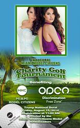 Miami Model Citizens, Charity Golf Tournament