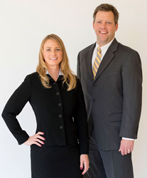 Karen and Greg Chilina of the Chilina Law Firm