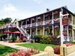 St. Augustine Florida Fourth of July, July 4, flags, bed and breakfast