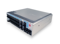 VoyagerESR combines Cisco routing & AES IOS with: Wi-Fi AP, Wi-Fi & cellular WAN tethering, PoE for VoIP, E&M for RoIP, tactical radio tethering, FXS, ISDN BRI, synchronous serial interface, battery-backed NTP server & removable configuration storage.