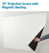 "IPEVO's Newest Product is the 70"" Projection Screen with..."