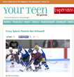 Your Teen Magazine Releases Crazy Sports Parents Feature to Put Focus on Competition Over Brawls