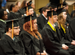 Picture of Commonwealth Connections Academy Class of 2014 graduates at an in-person graduation ceremony