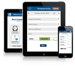 AccountSight Timesheet and Expense Tracker