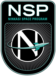 Ninkasi Space Program Logo