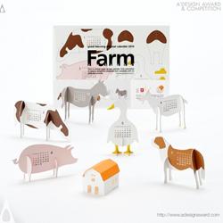 2014 Calendar - Farm by Katsumi Tamura