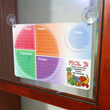 Dry Erase Menu Boards with Suction Cups