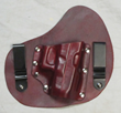 Inside the waistband and outside the waistband holsters are available from Stirn Holsters.