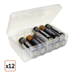 Pack of 12 Battery Storage Cases (AA), $26.99