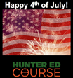 Online Hunter Ed Course Suggests Outdoors Outings for the 4th