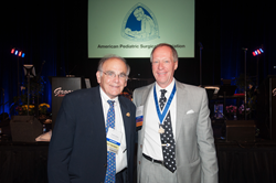 Bradley M. Rodgers, MD, with APSA Past President Thomas M. Krummel, MD