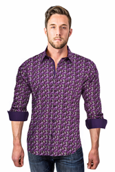 "The ""Rocco"" Men's Designer Shirt By Verzari.com"