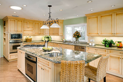 Professionally photographed kitchen