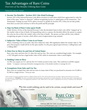 RCW Financial Releases Article on Unique Tax Advantages of Tangible...