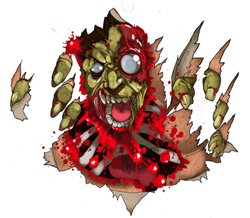zomBcall zombie vocalizer toy kickstarter t-shirt design