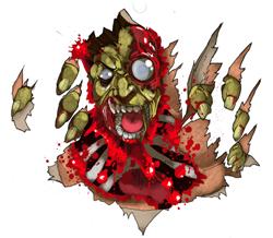 zomBcall zombie vocalizer toy kickstarter t-shirt design