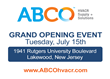 ABCO Is Heading Down the Shore – Grand Opening Celebration in...