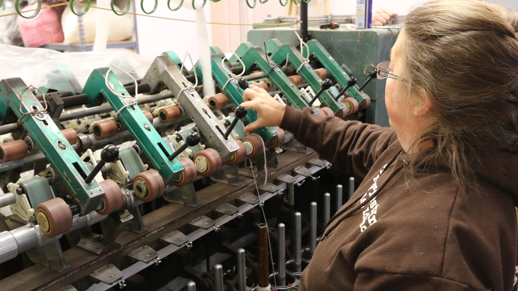 wool spinning machine