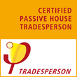 New Energy Works Timberframers Construction Project Manager recently certified as a Passive House Tradesperson
