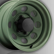 U.S. Wheel Stealth Crawler Wheel, Camo Green