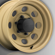 U.S. Wheel Stealth Crawler Wheel, Desert Sand