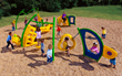 Today's Playgrounds Focus on Fitness