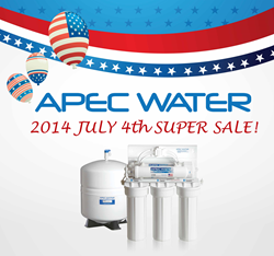APEC Water July 4th Sale