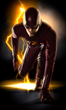 Grant Gustin stars as the Fastest Man Alive, Barry Allen/The Flash, in THE FLASH, premiering October 7 and airing Tuesdays at 8/7c on The CW. (Photo Credit: © Warner Bros. Entertainment Inc.)