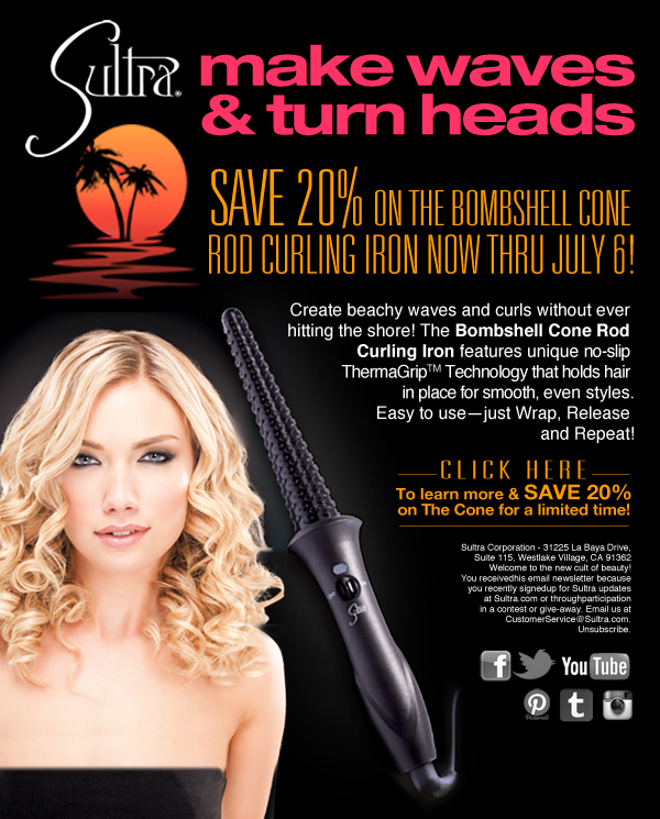 Sultra Announces 20 Percent Off Sale On Bombshell Cone Rod