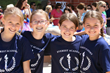 Next year's fifth graders are all smiles at Everest Field Day recently.