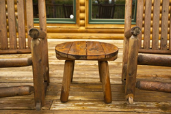 two rocking chairs at a Gatlinburg cabin