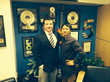 Dr Chynn and Mark after appearing on Connecticut's most popular morning radio show last month