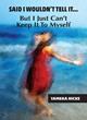 Christians Soulseeking Book Publishing Has Published Said I Wouldn't...