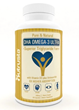 Omega 3 Fish Oil Supplement by Nutrusta Offers Six Times Higher DHA...