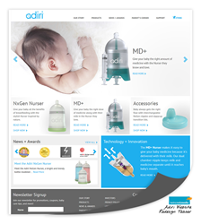 Twin Creek Media Web Design for Adiri