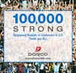 Dorco® USA Welcomes Its 100,000th Online Customer