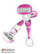 Dorco Shai Soft Touch Shaving System For Women