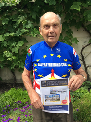 Photograph of Brian Robinson cycling legend