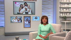 Lorraine on ITV - Datapath x4 video wall