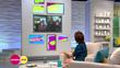 Lorraine on ITV - Datapath x4 video wall