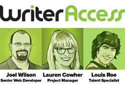 New Hires at WriterAccess