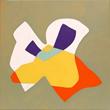 """""""Fig Bunny 3,"""" 2009. 24'' x 24"""" acrylic on canvas"""