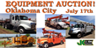 Complete Liquidation Auction Sale, Oklahoma City, July 17, 2014: Over...
