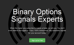 Binary Options Signals Experts