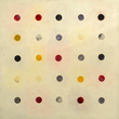 Tracey Adams, (r)evolution 2 web, encaustic & collage, 40x40, 2014