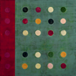 Tracey Adams, (r)evolution 9 web, encaustic & collage on panel, 30x30, 2014