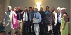 bill howe celebrates graduation of san diego plumbers from phcc