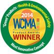 WCMA 2014 Product Award Medallion for Insolroll Motorized Window Shades